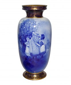 Blue Children Vase Girls Tinke