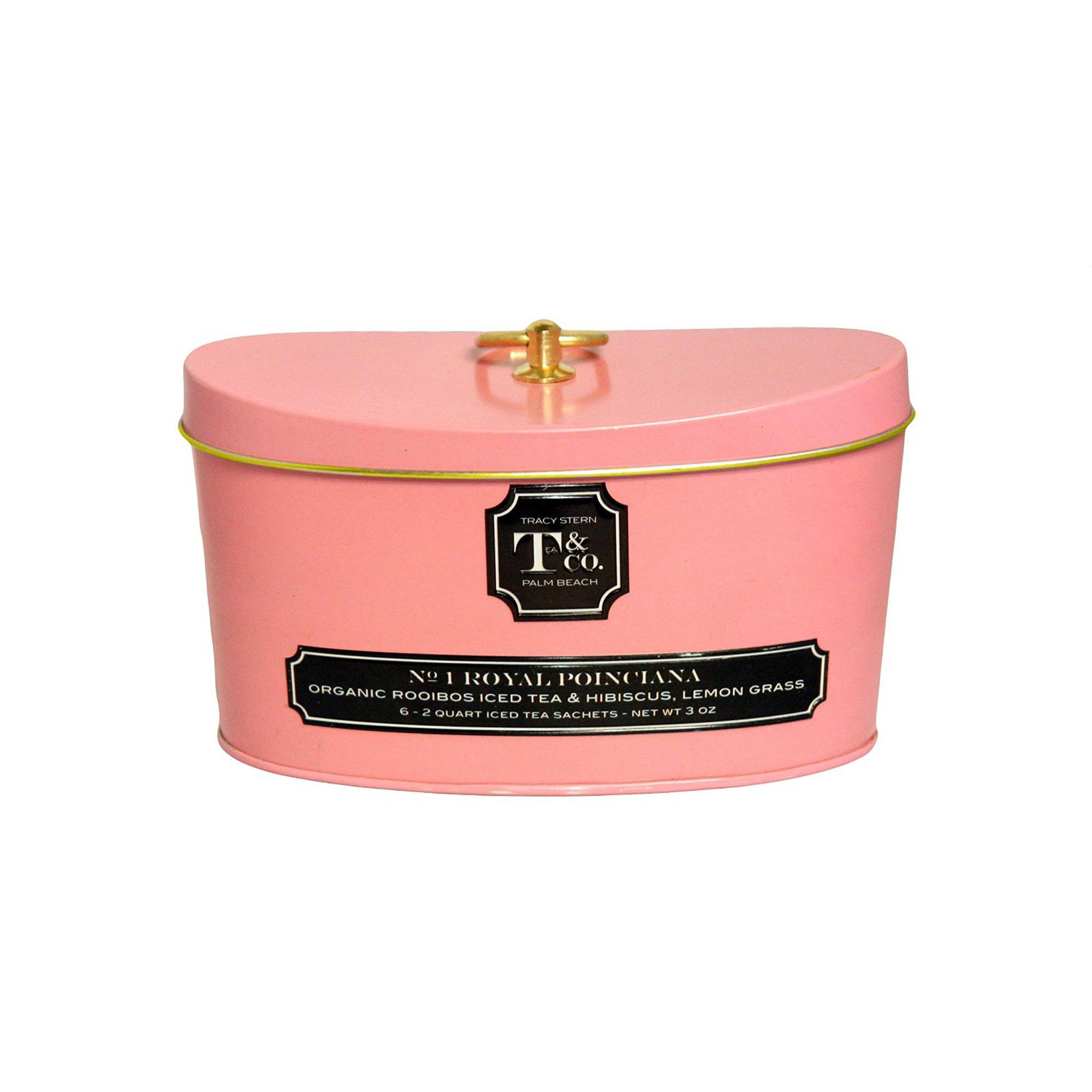 No 1 Royal Ponciana - Tracy Stern Tea & Co Iced Tea
