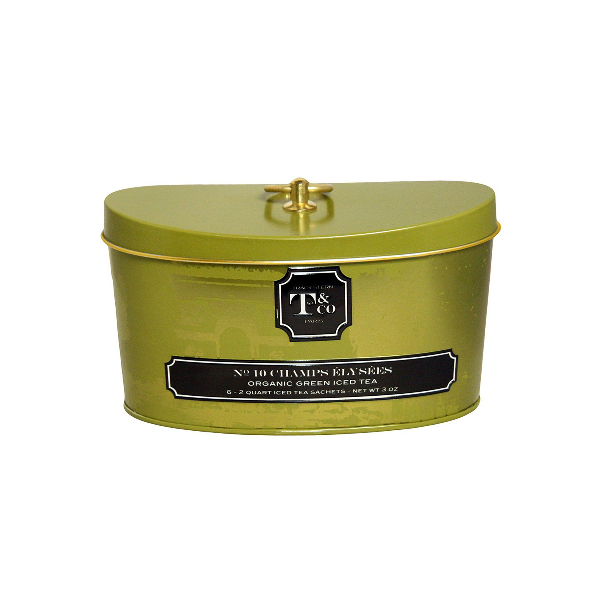 No 10 Champs Elysee - Tracy Stern Tea & Co Iced Tea