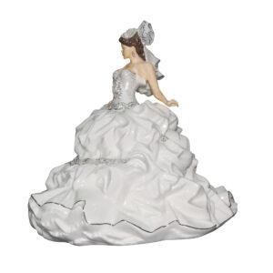 Gypsy Bride Brunette - English Ladies Company Figurine