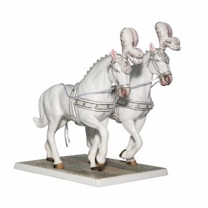 Going To The Chapel Horses - English Ladies Company Figurine