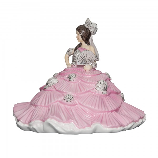 Gypsy Fantasy Pink Brunette - English Ladies Company Figurine