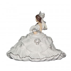 Gypsy Fantasy White Brunette - English Ladies Company Figurine