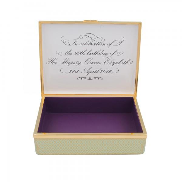 QEII 90th Prestige Box 014_10706 - Halcyon Days Box