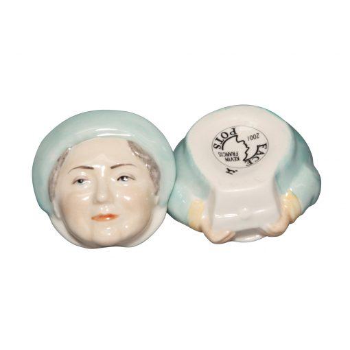 Queen Mother - Kevin Francis Face Pot