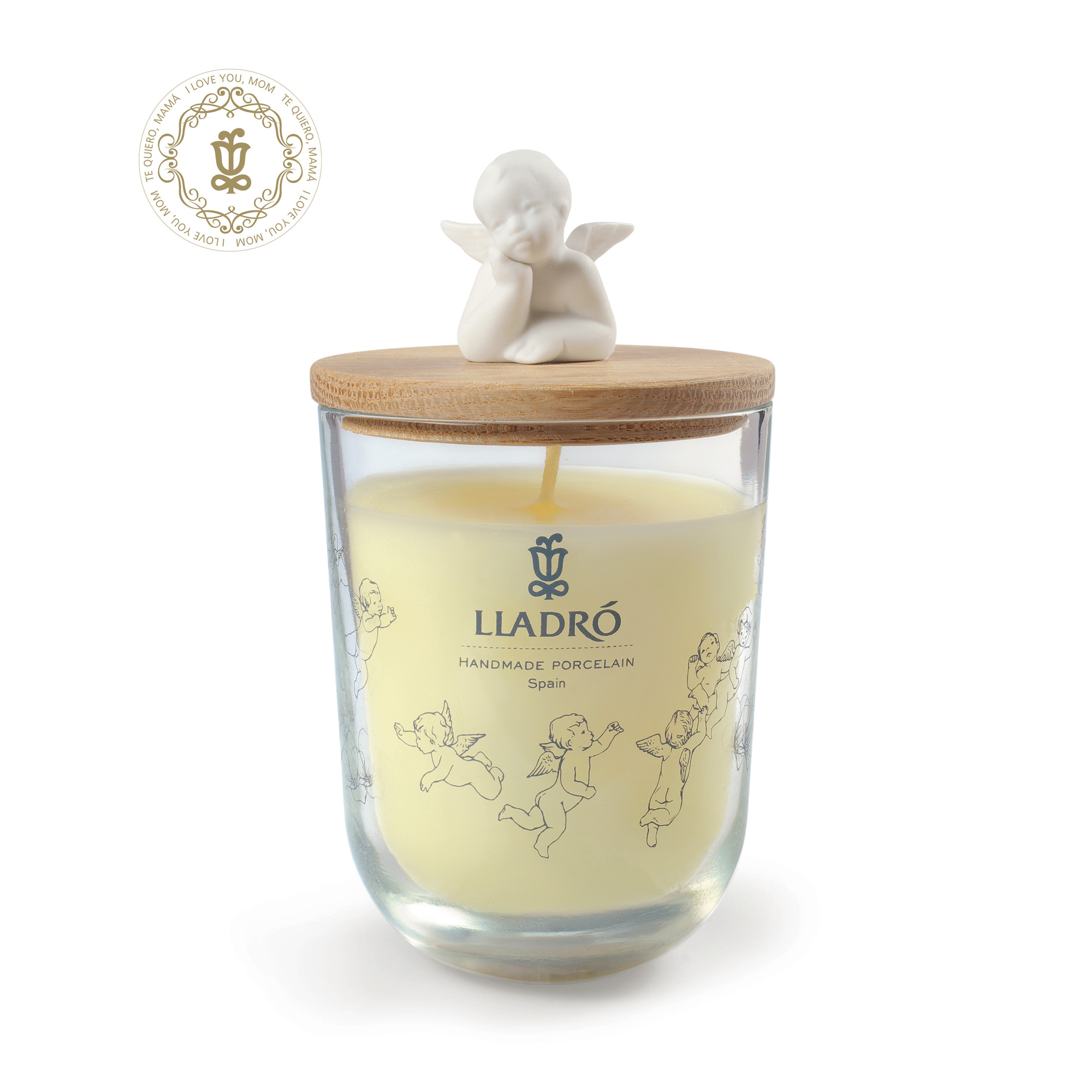 Dreaming of You - I Love You, Mom Candle 1040113 - Lladro