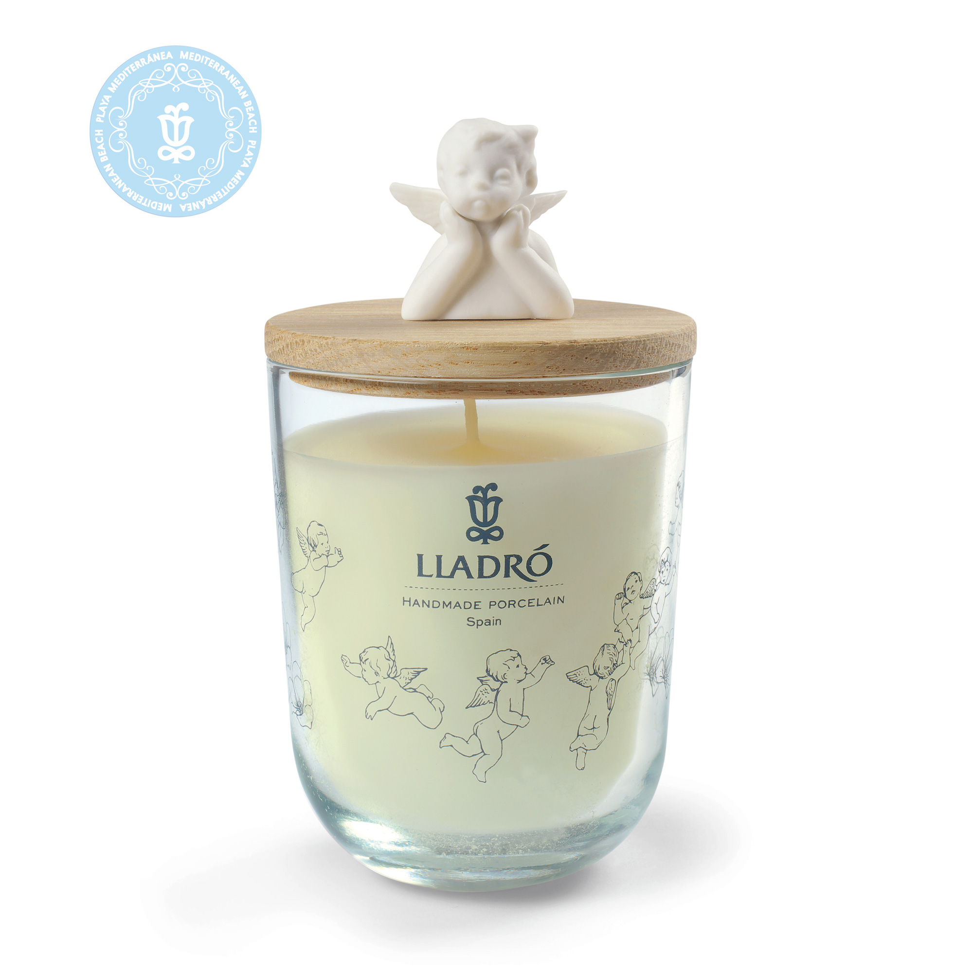 Missing You - Mediterranean Beach Candle 1040109 - Lladro