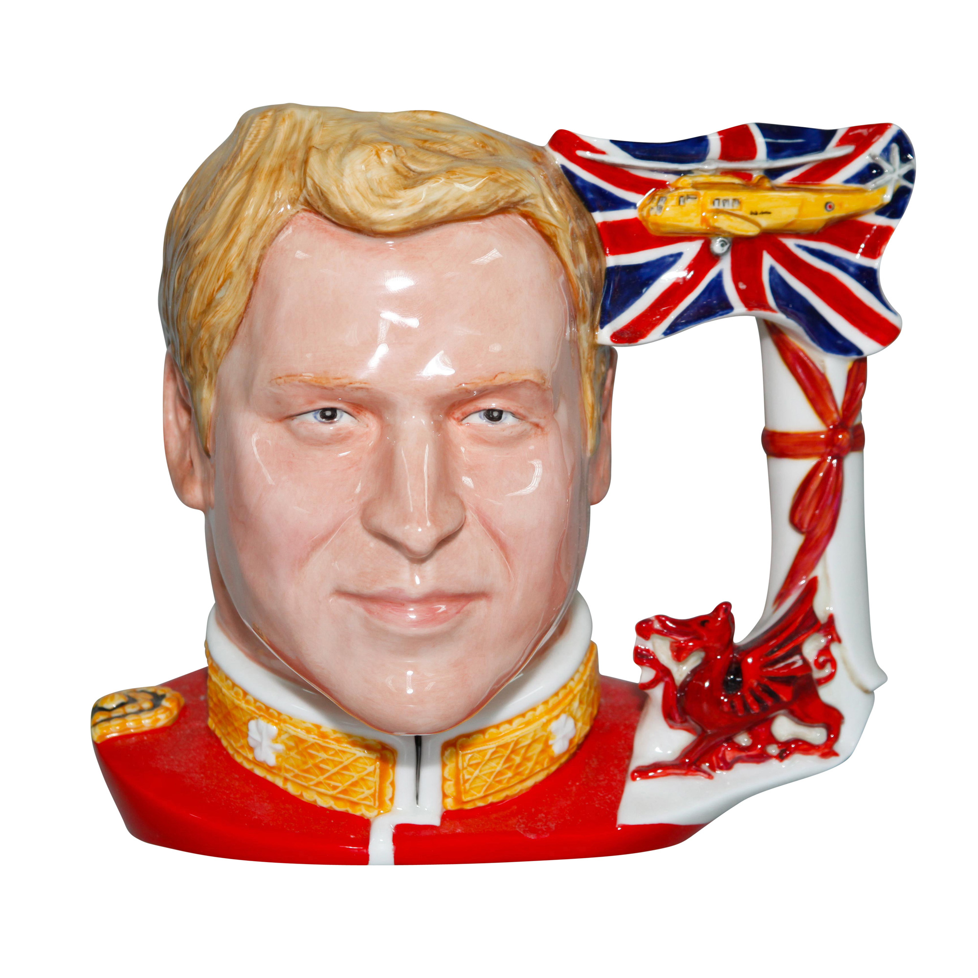 Prince William - Large - Royal Doulton Character Jug