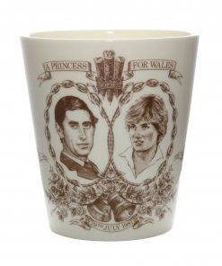 Celebrating the Marriage of the Prince of Wales and Lady Diana Spencer - Royal Doulton Beaker