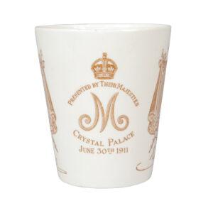 Shelley - George V and Mary - 1911 Coronation - Beaker
