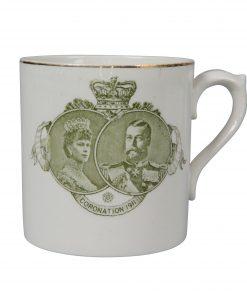 George V and Mary - 1911 Coronation - Royal Doulton Mug