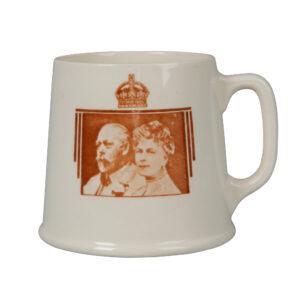 Royal Doulton - George V and Mary - Silver Jubilee - Mug