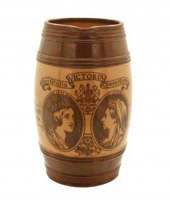 Stoneware Queen Victoria Pitcher