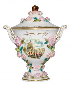 Coalport Queen Elizabeth II Coronation Lidded Bowl