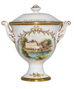 Coalport Queen Elizabeth II Silver Jubilee Lidded Bowl