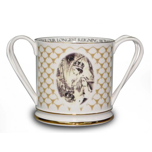 Queen Elizabeth II Loving Cup to Commemorate Her 90th Birthday and Longest Reigning Monarch