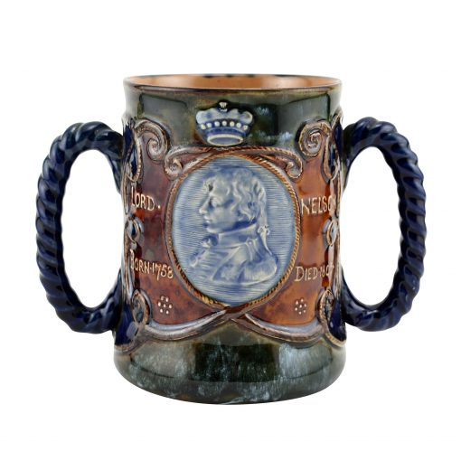 Royal Doulton Stoneware Lord Nelson Loving Cup