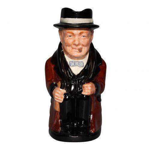 Winston Churchill Toby Jug - Large Color Variation