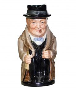 Winston Churchill Toby Jug D6172 - Bone China - Medium