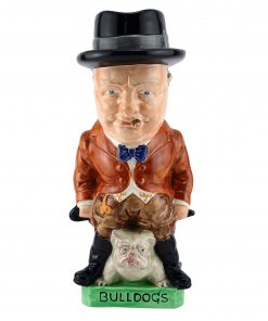 Burgess & Leigh Ware Winston Churchill Toby Jug