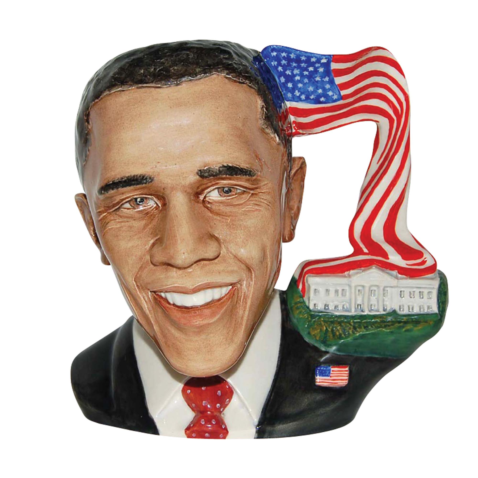 President Barack Obama - Large - Royal Doulton Character Jug
