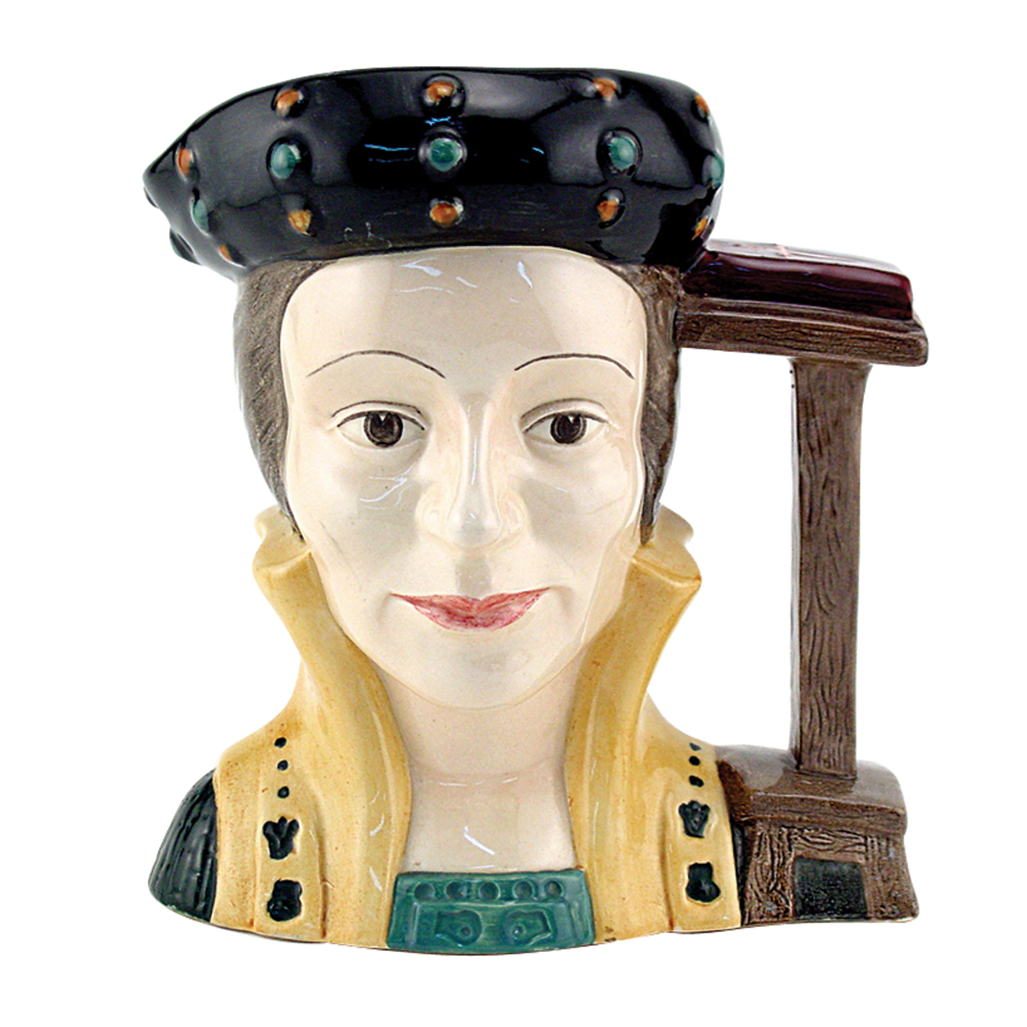 Catherine Parr - Artist Sample - D6664 - Large - Royal Doulton Character Jug