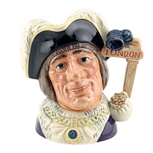 Dick Whittington New - Artist Sample - D6846AS - Large - Royal Doulton Character Jug