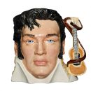 Elvis Presley PTP Guitar White - Large - Royal Doulton Character Jug