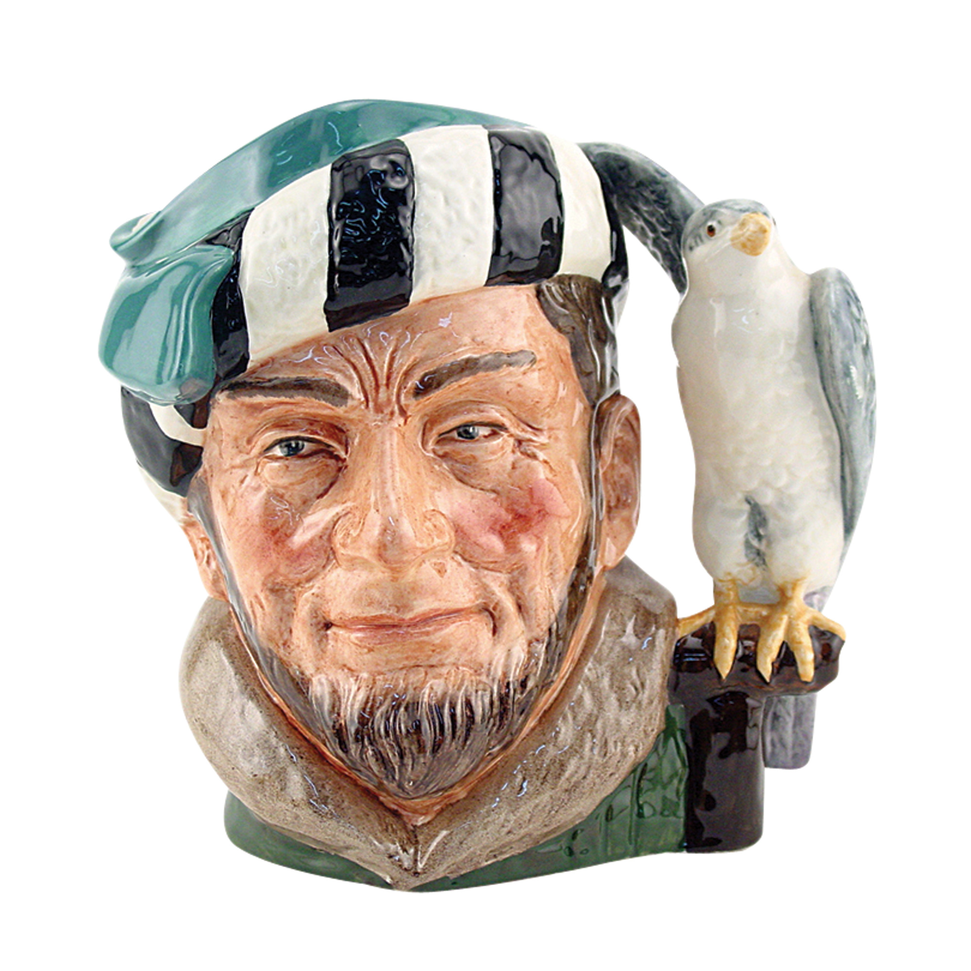Falconer (Bone China) D6533BC - Large - Royal Doulton Character Jug