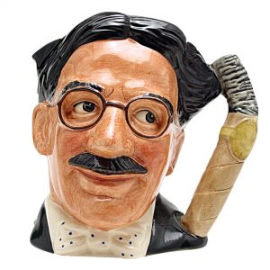 Groucho Marx - Artist Sample D6710AS - Large - Royal Doulton Character Jug