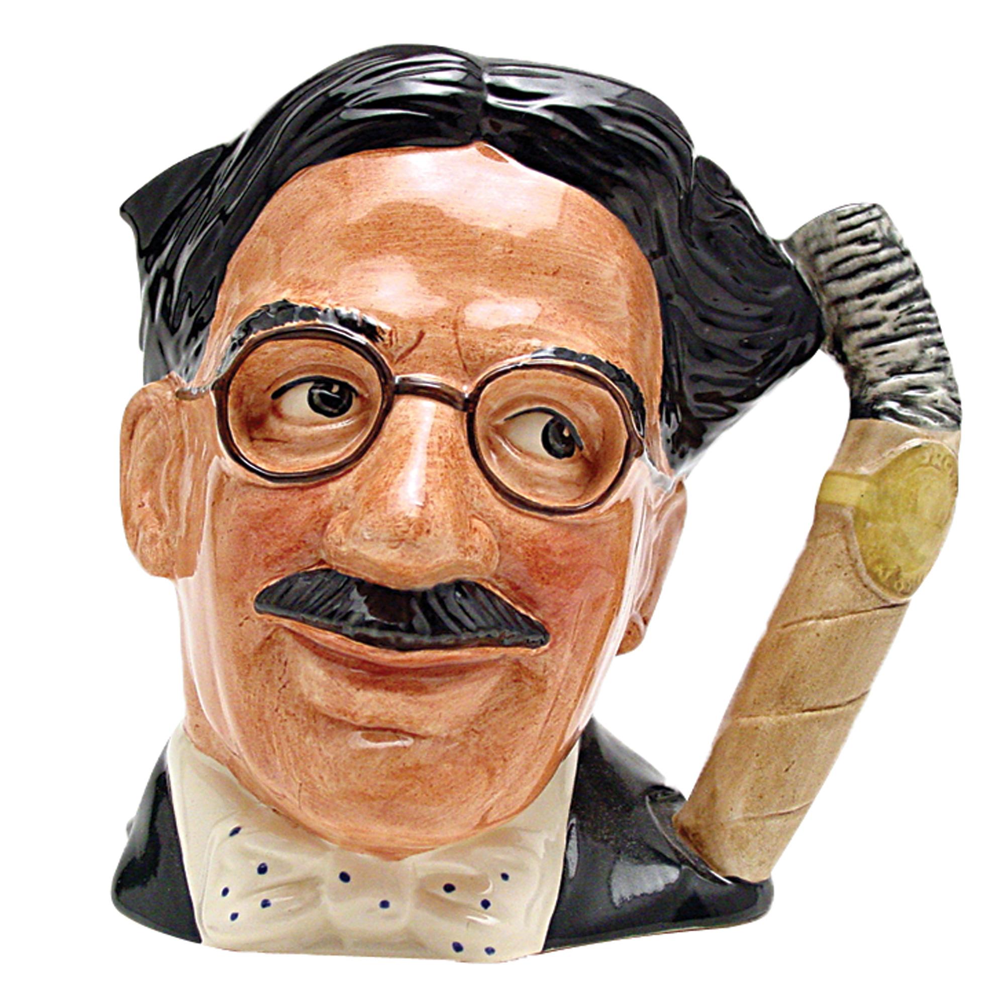 Groucho Marx - Artist Sample D6710AS - Large - Royal Doulton Character Jug