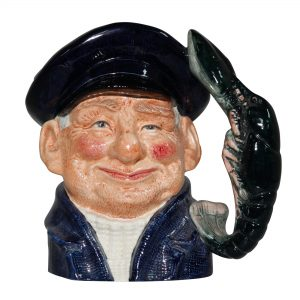 Lobsterman (Bone China) D6617BC - Large - Royal Doulton Character Jug