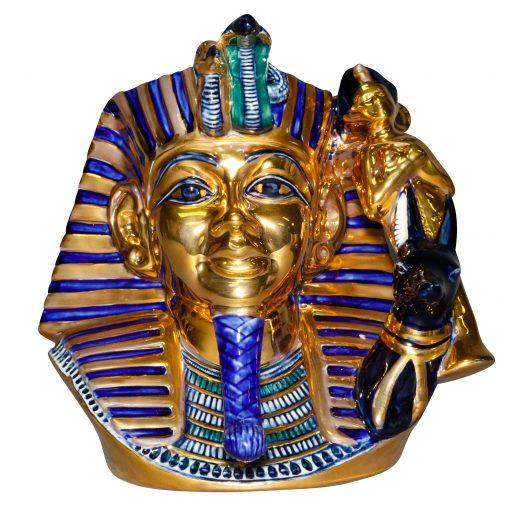 Pharoah Blue, Gold, Black - Large - Royal Doulton Character Jug