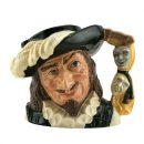 Scaramouche Glass Guild - Factory Sample D6774FS - Large - Royal Doulton Character Jug