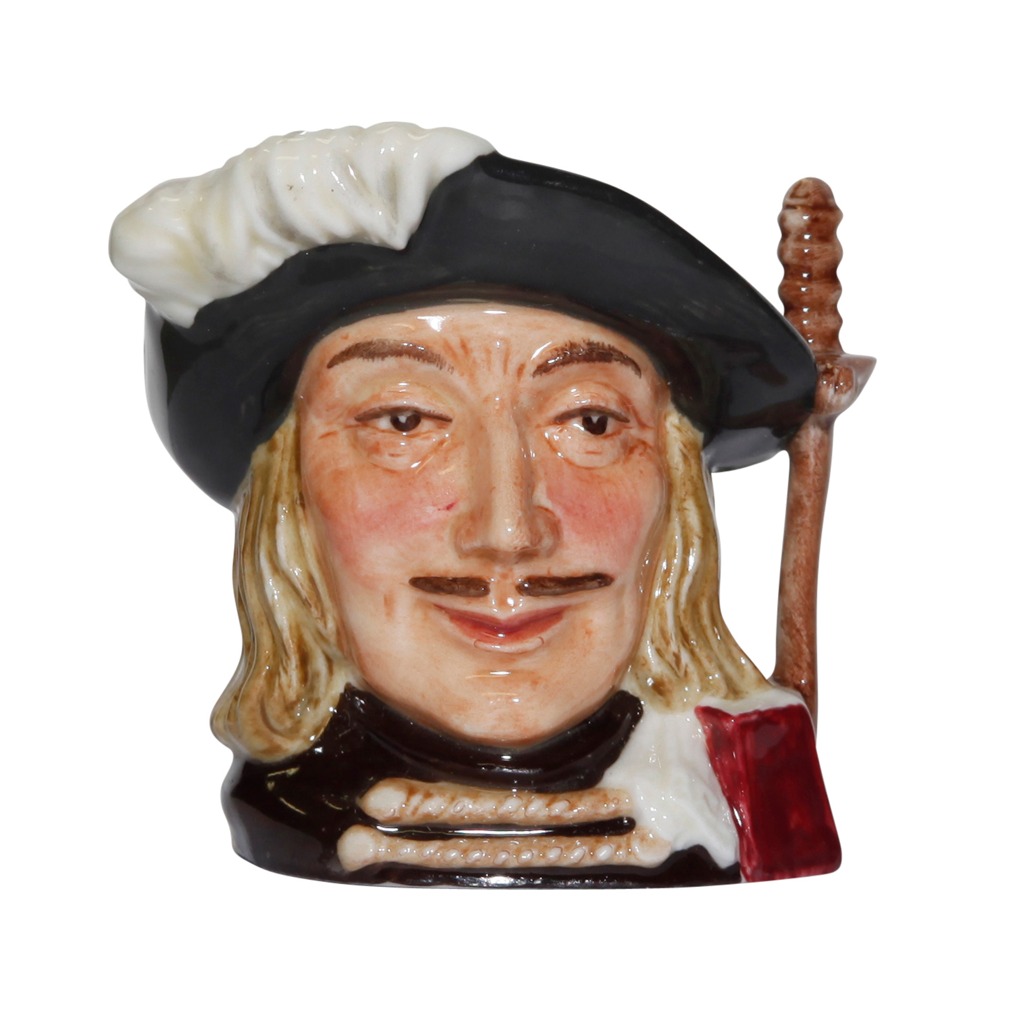 Aramis (Bone China) D6508BC - Miniature - Royal Doulton Character Jug