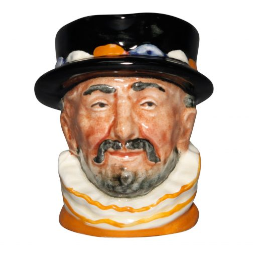 Beefeater - Color Variation Orange - Miniature - Royal Doulton Character Jug