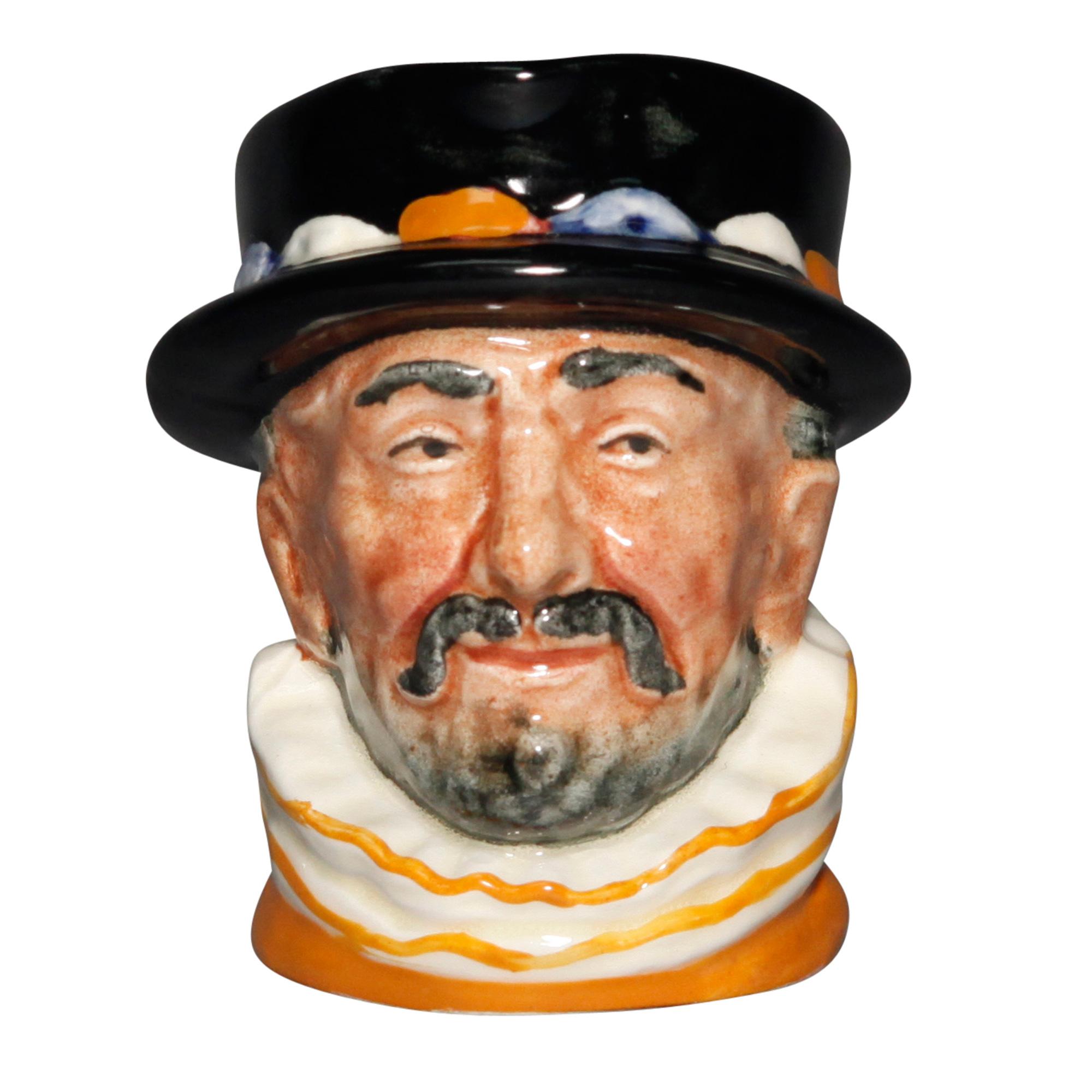 Beefeater - Color Variation Orange - Miniature - Royal Doulton Character Jug