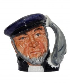 Capt Ahab (Bone China) D6522BC - Miniature - Royal Doulton Character Jug
