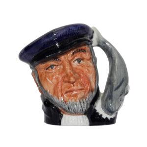 Capt Ahab (Bone China) D6522BC - Miniature - Royal Doulton Character Jug