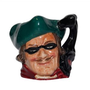 Dick Turpin Horse Handle D6542BC - Miniature - Royal Doulton Character Jug