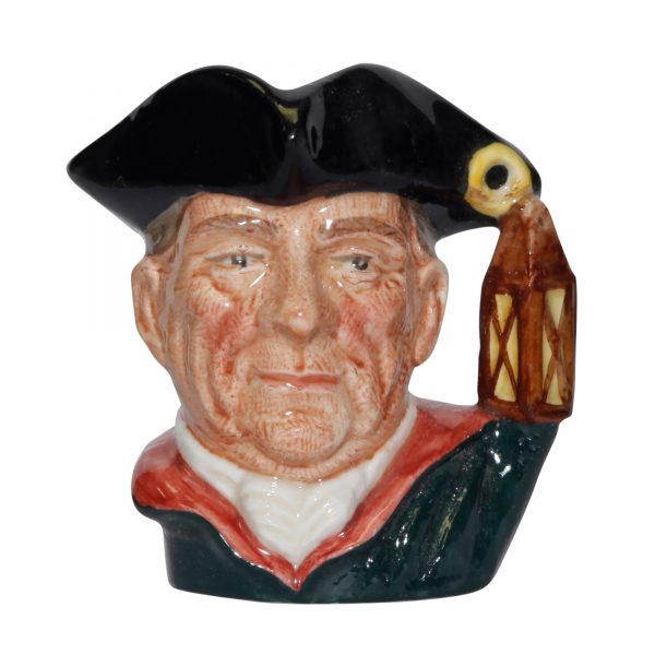 Night Watchman (Bone China) D6583BC - Miniature - Royal Doulton Character Jug