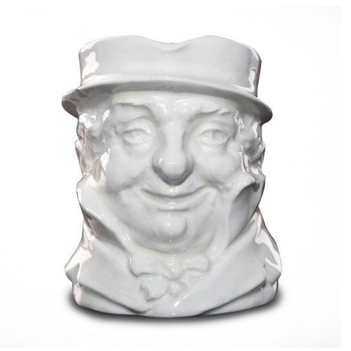 Cap'n Cuttle (White) D5842 - Medium - Royal Doulton Character Jug