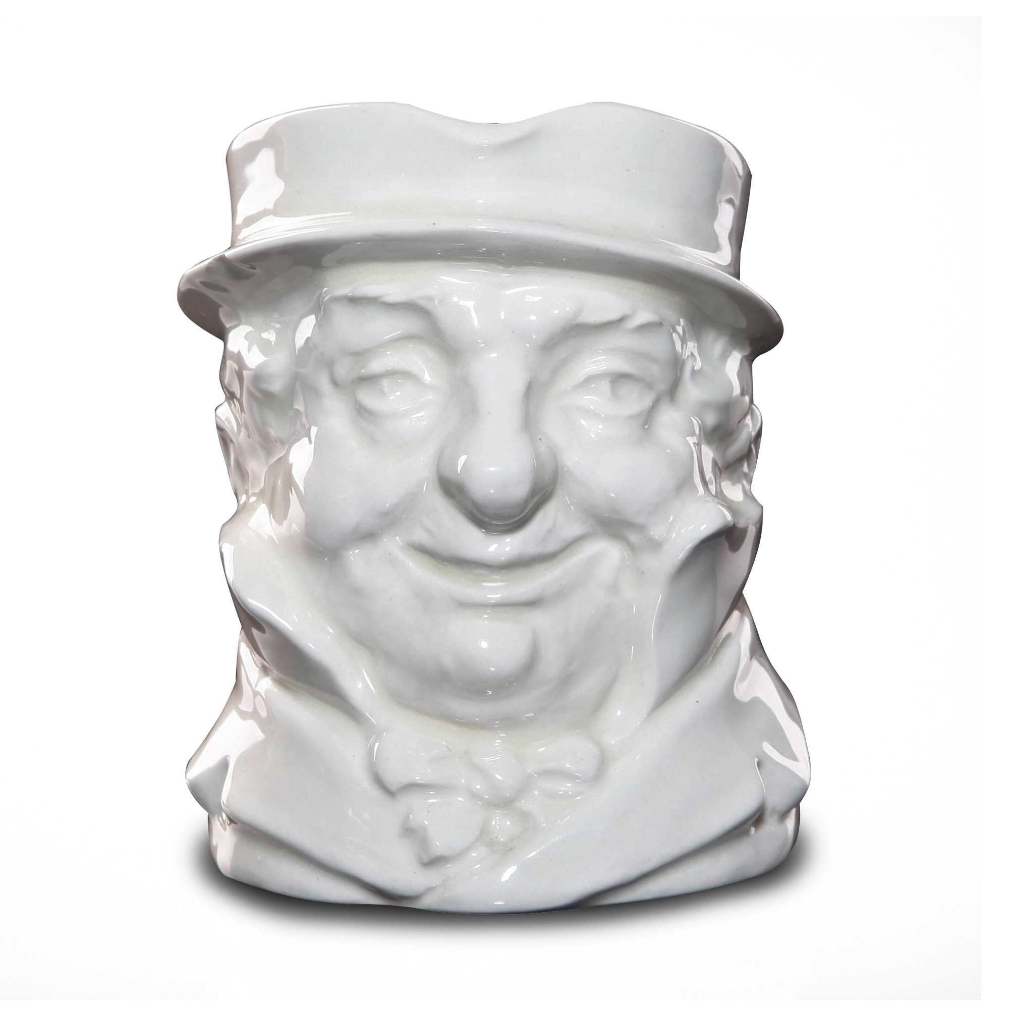 Cap'n Cuttle (White) D5842 - Medium - Royal Doulton Character Jug