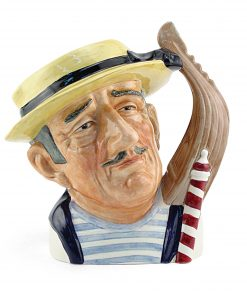 Gondolier (Bone China) D6592 - Small - Royal Doulton Character Jug