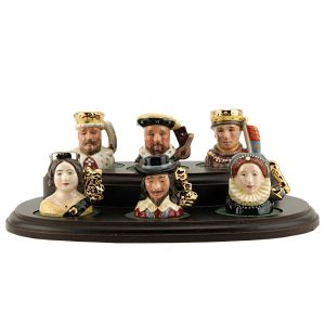 Kings and Queens WithOut Stand - Tiny - Royal Doulton Character Jug