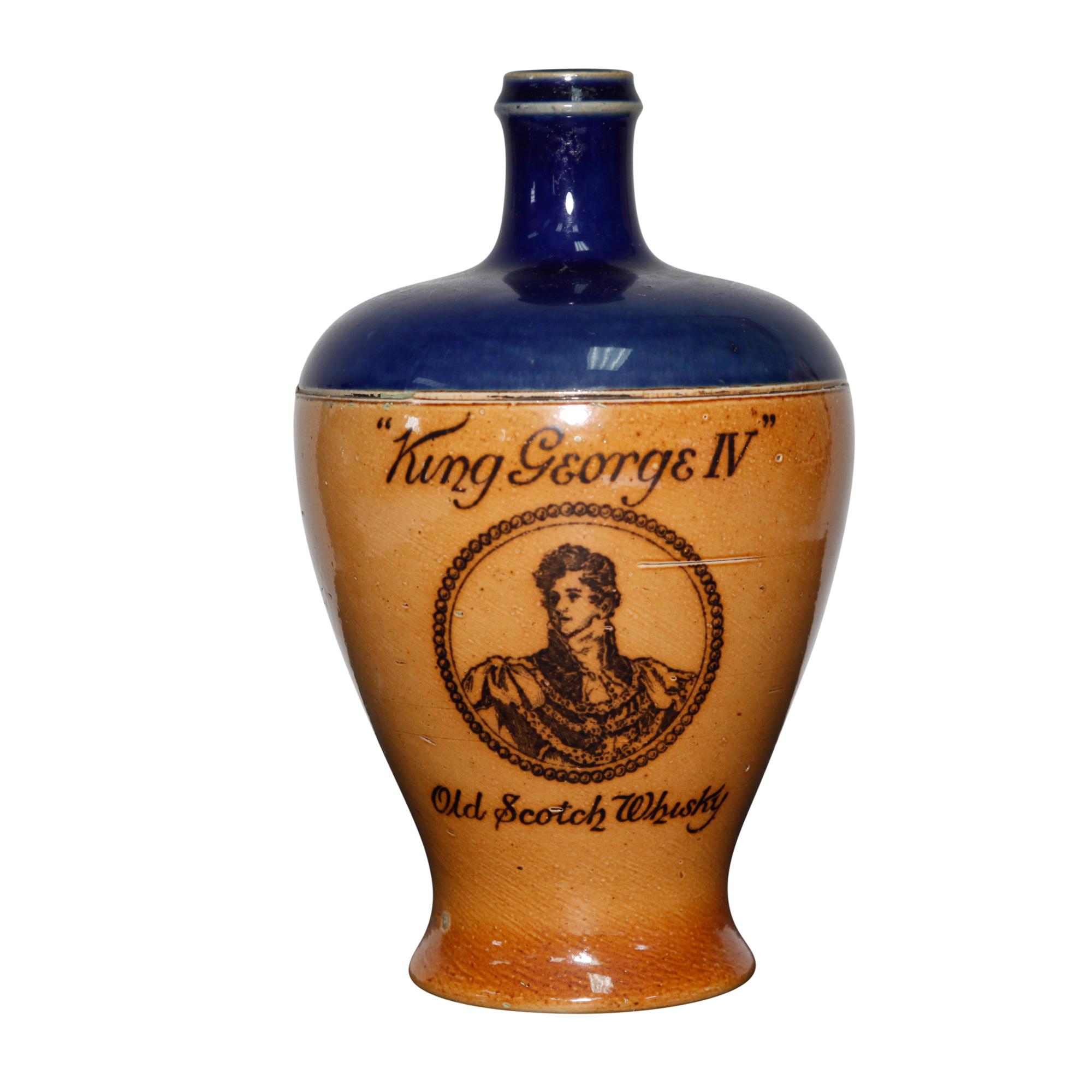 King Geroge IV Bottle