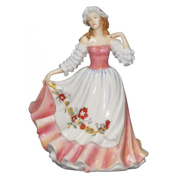 "England ""English Rose"" (Petite) - English Ladies Company Figurine"