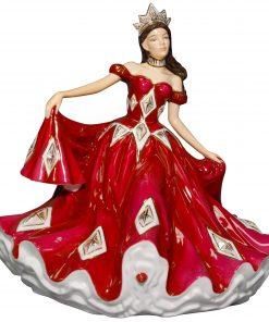 Ruby Waltz - English Ladies Company Figurine
