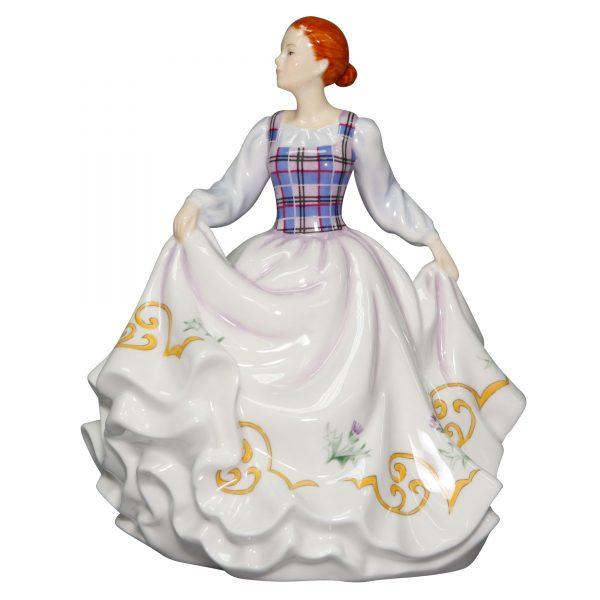 "Scotland ""Bonnie Lass"" (Petite) - English Ladies Company Figurine"