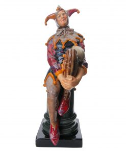 Jester (Variation with Raised Back)HN1702 - Royal Doulton Figurine